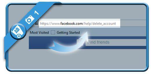 دیلیت اکانت Delete Facebook