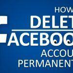 آموزش حذف اکانت فیسبوک دیلیت اکانت Delete Facebook
